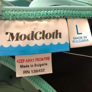 Modcloth Swim - NWT MODCLOTH The Janey Bikini Top in Dinosaurs
